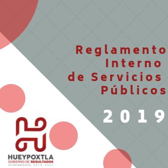 Reglamento de servicios públicos