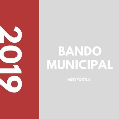 Bando Municipal 2019